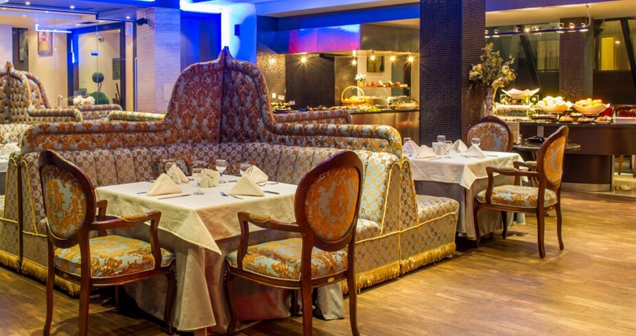 Grand Hotel Bansko bugarska skijanje zimovanje restoran