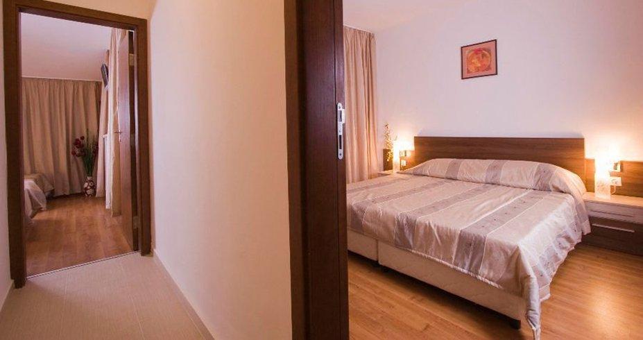 Hotel Belvedere bugarska bansko zima apartman