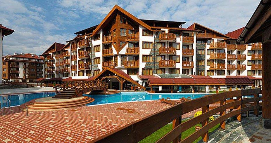 Hotel Belvedere bugarska bansko zima