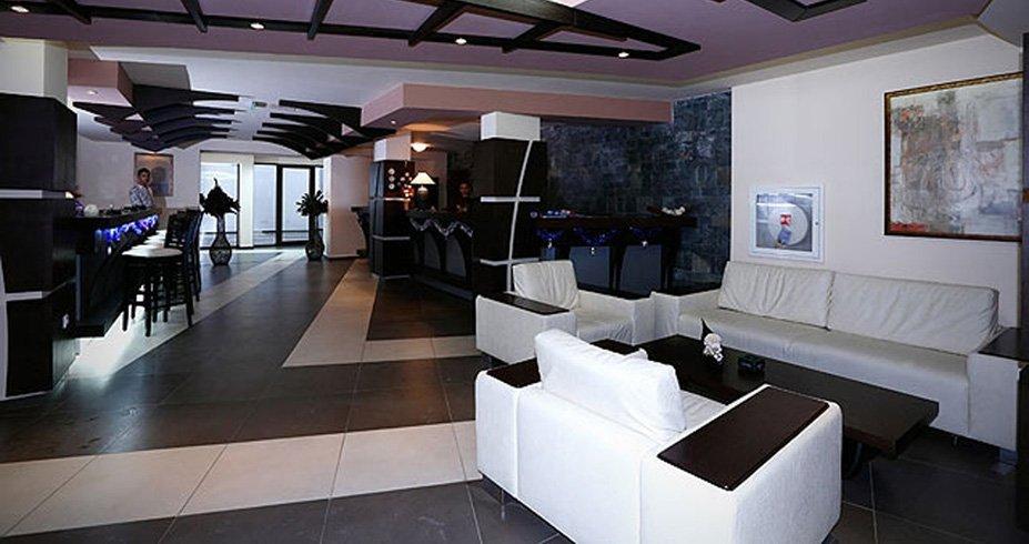 Hotel Belvedere bugarska bansko zimovanje lobi