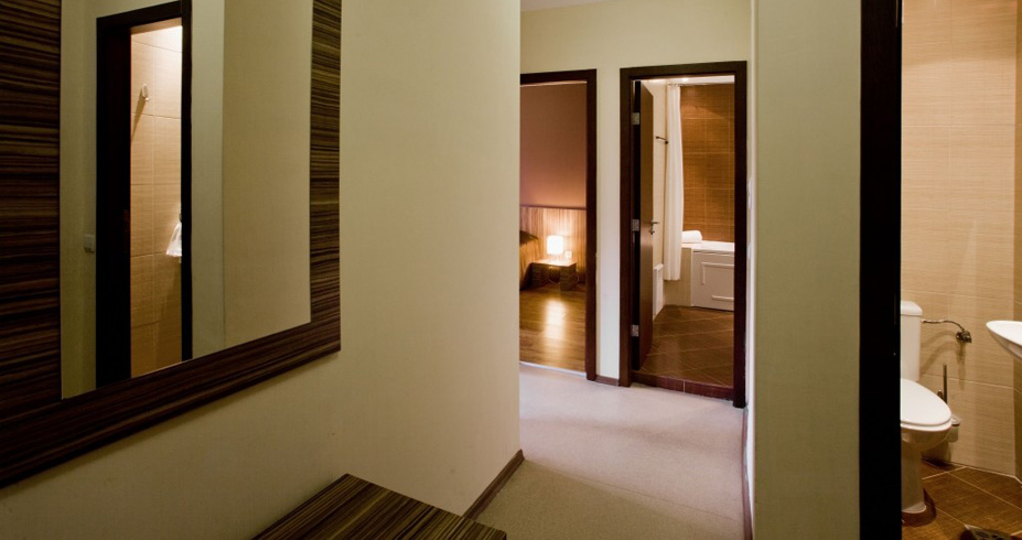 Hotel Casa Karina bansko bugarska skijanje zima apartman