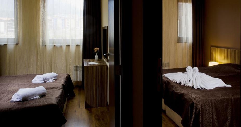 Hotel Casa Karina bansko bugarska skijanje zima apartmani
