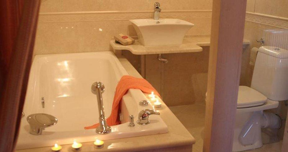 Hotel Friends bugarska bansko zima kupatilo