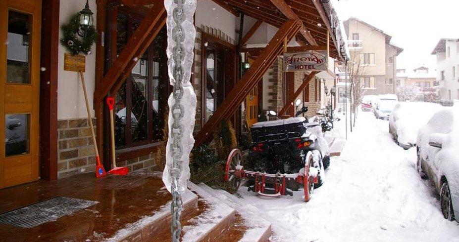 Hotel Friends bugarska bansko zima