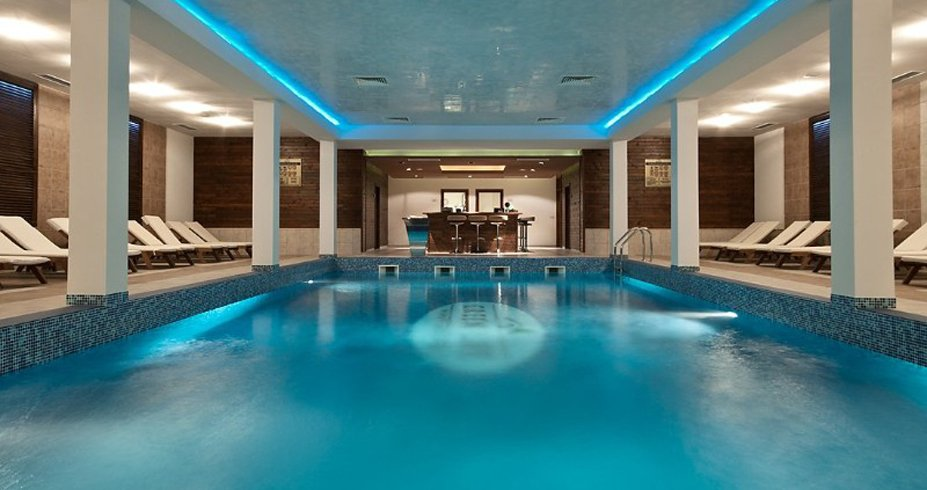 Hotel Green Life Ski Spa bugarska bansko bazen