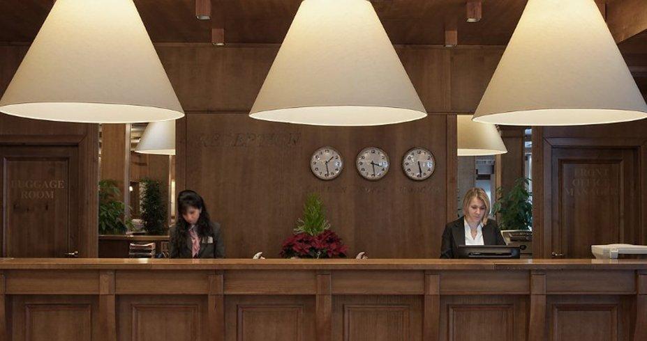 Hotel Green Life Ski Spa bugarska bansko recepcija