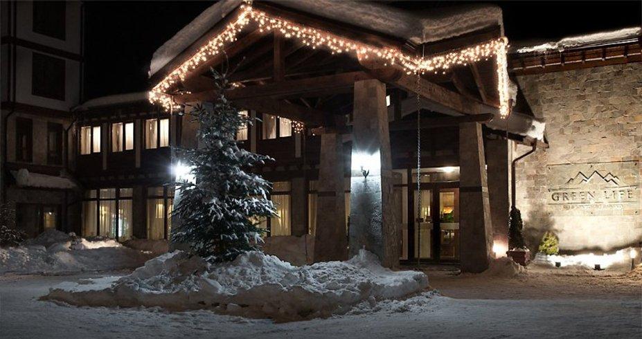 Hotel Green Life Ski Spa bugarska bansko zima