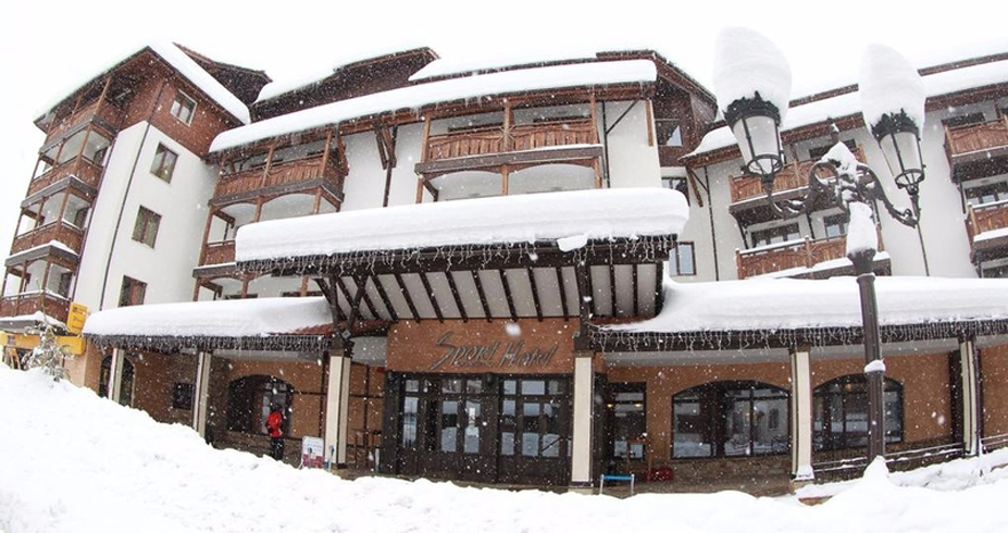 Hotel Sport bansko bugarska zimovanje skijanje