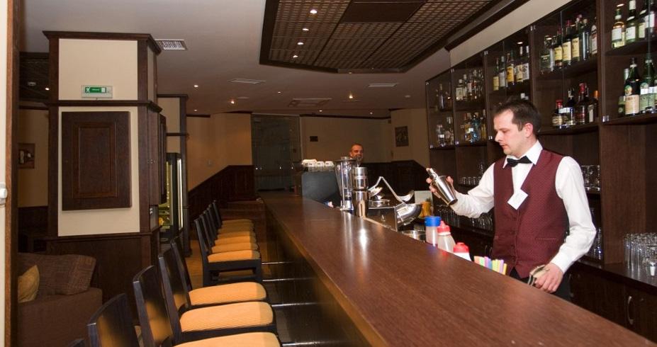 Hotel Sv. Ivan Rilski bansko bugarska zimovanje lobi bar