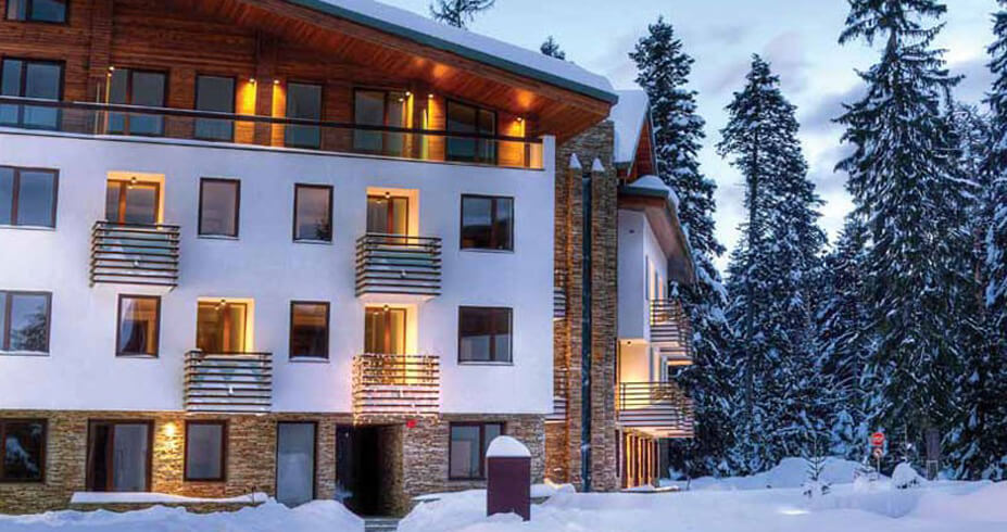 Hotel Euphoria Club borovec bugarska zimovanje