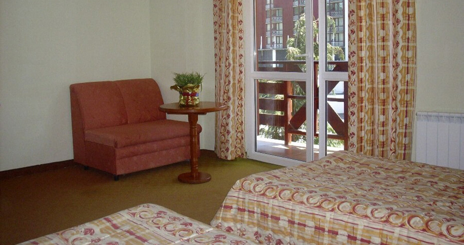 Hotel Iglika Palace borovec bugarska soba