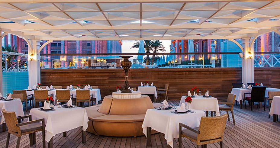 Kaya Artemis Resort Casino kipar asya restoran