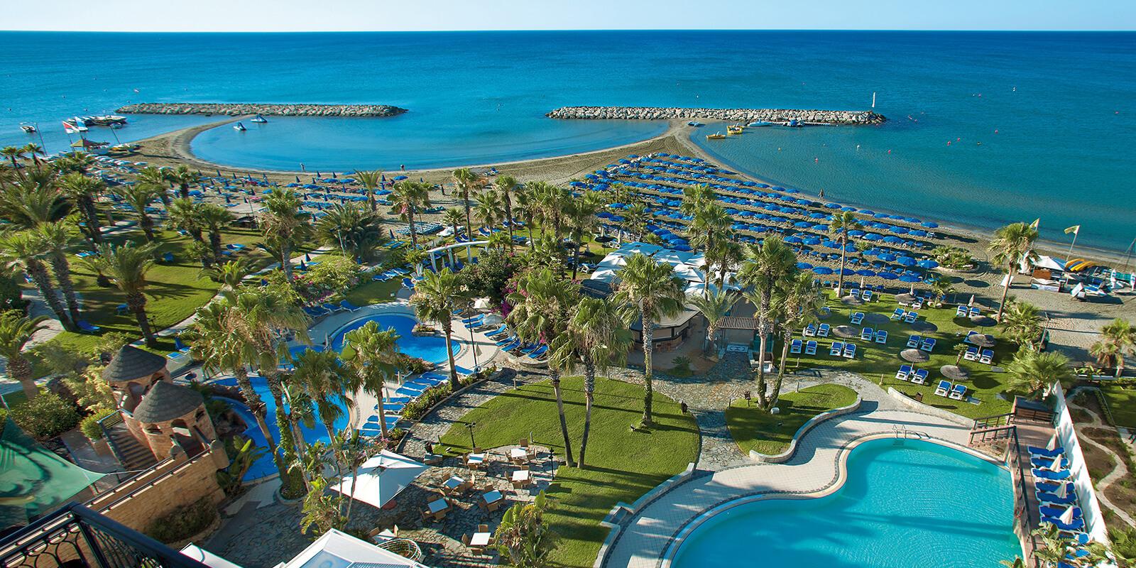 Lordos Beach Larnaka kipar letovanje