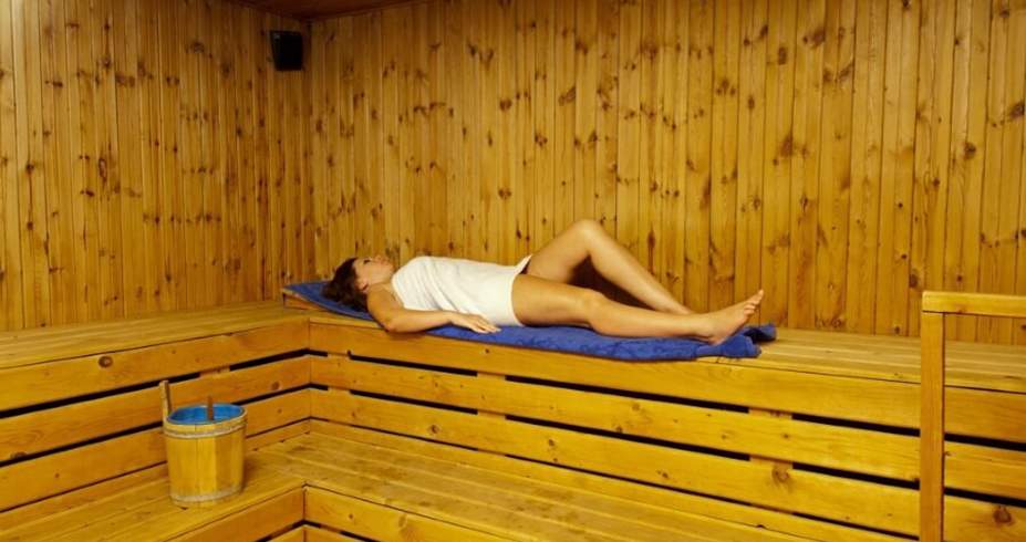 Riverside Garden Resort kirenija sauna