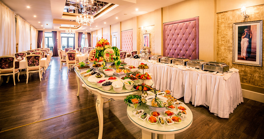 Vuni Palace Hotel Casino kipar letovanje restoran