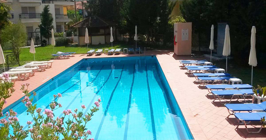Hotel Petridis Pefkohori bazen