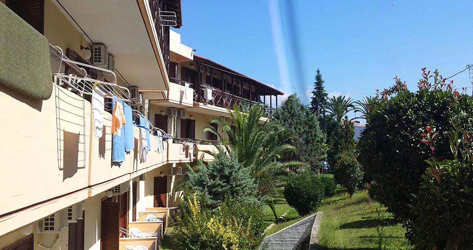 Hotel Petridis Pefkohori grcka leto