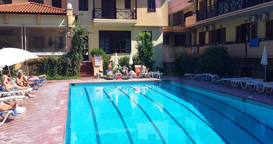 Hotel Petridis Pefkohori letovanje bazen