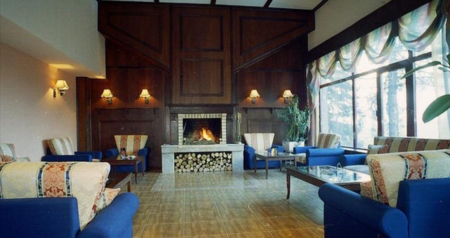 Hotel Prespa pamporovo bugarska kamin sala