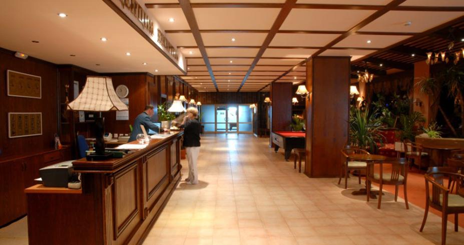 Hotel Prespa pamporovo bugarska recepcija
