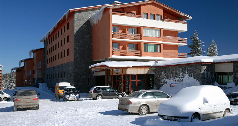 Hotel Prespa pamporovo parking