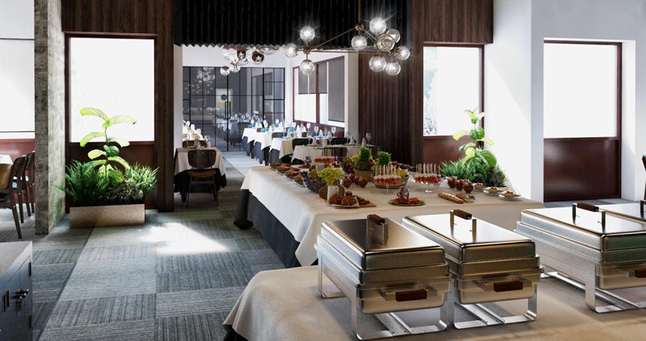 Hotel Putnik Kopaonik restoran svedski sto