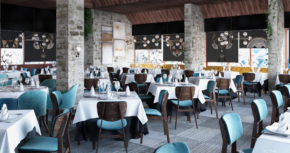 Hotel Putnik Kopaonik restoran