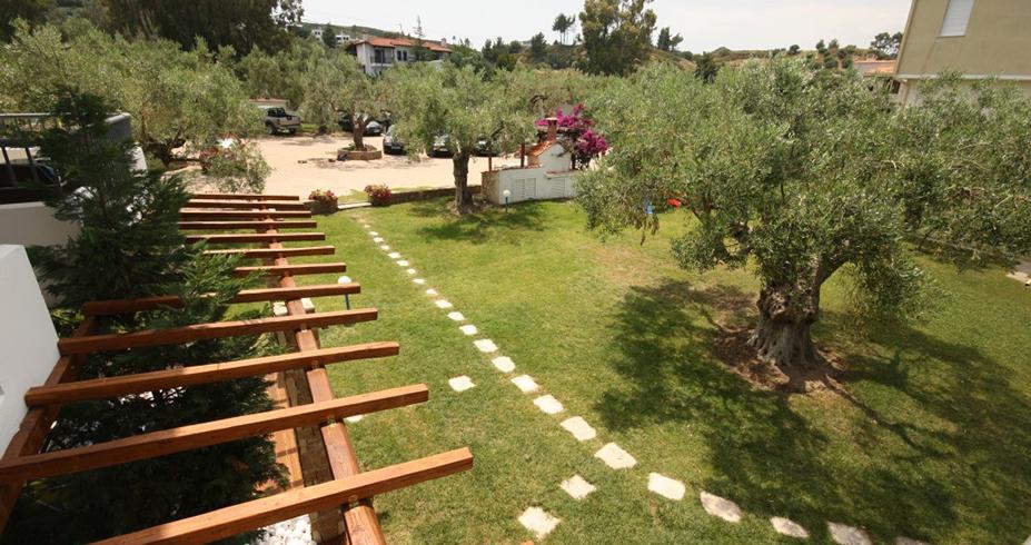 Vila Dionisos Resort Pefkohori grcka dvoriste