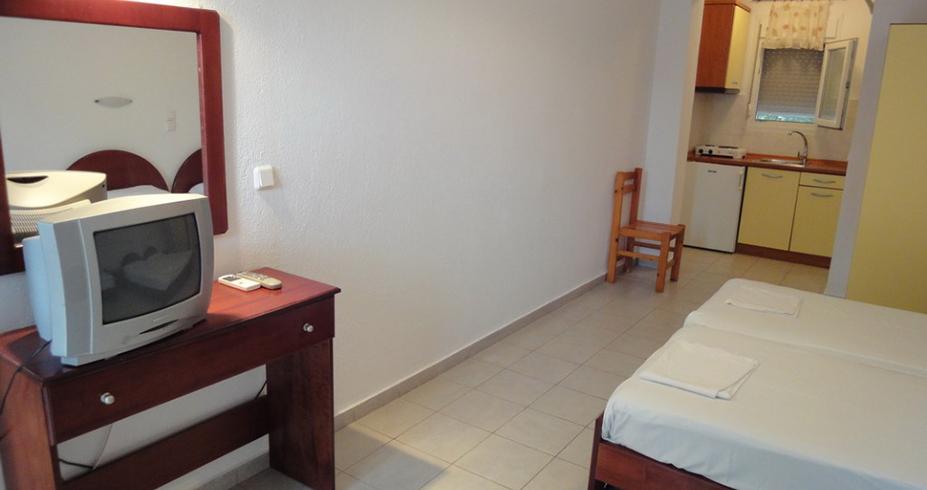Vila Dionisos Resort Pefkohori grcka leto studio