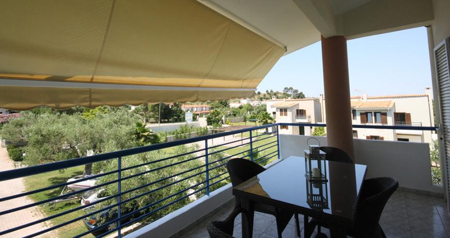 Vila Dionisos Resort Pefkohori grcka letovanje terasa