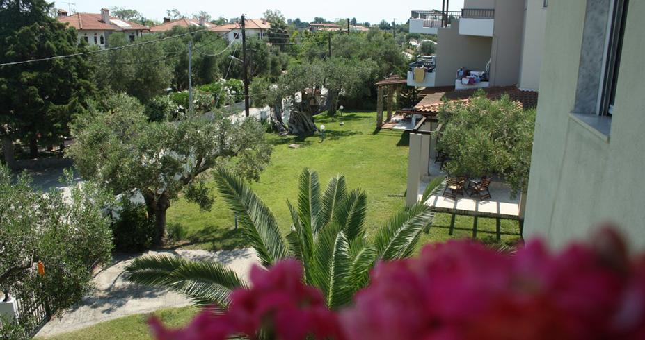 Vila Dionisos Resort Pefkohori grcka pogled