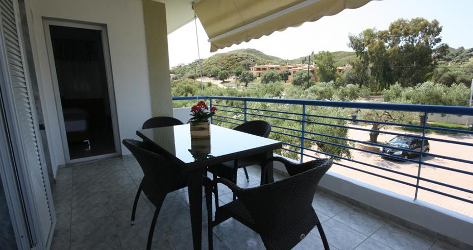 Vila Dionisos Resort Pefkohori grcka terasa