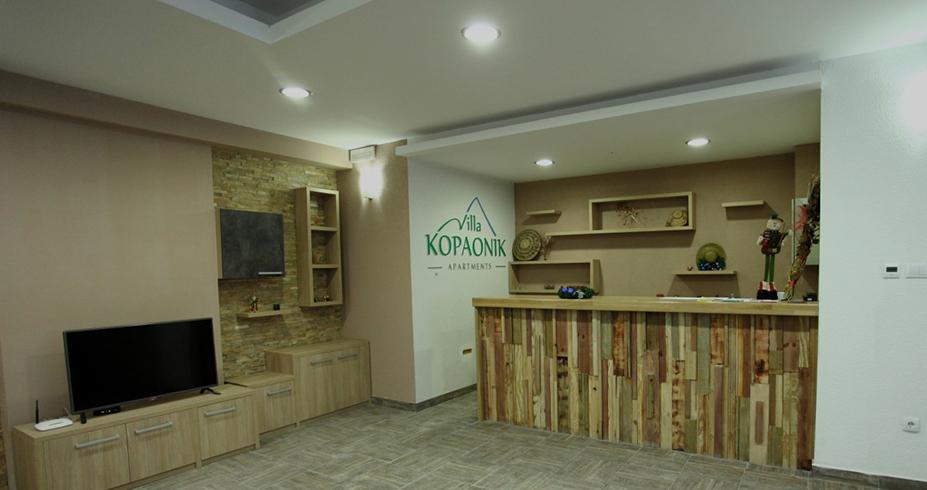 Vila Kopaonik recepcija