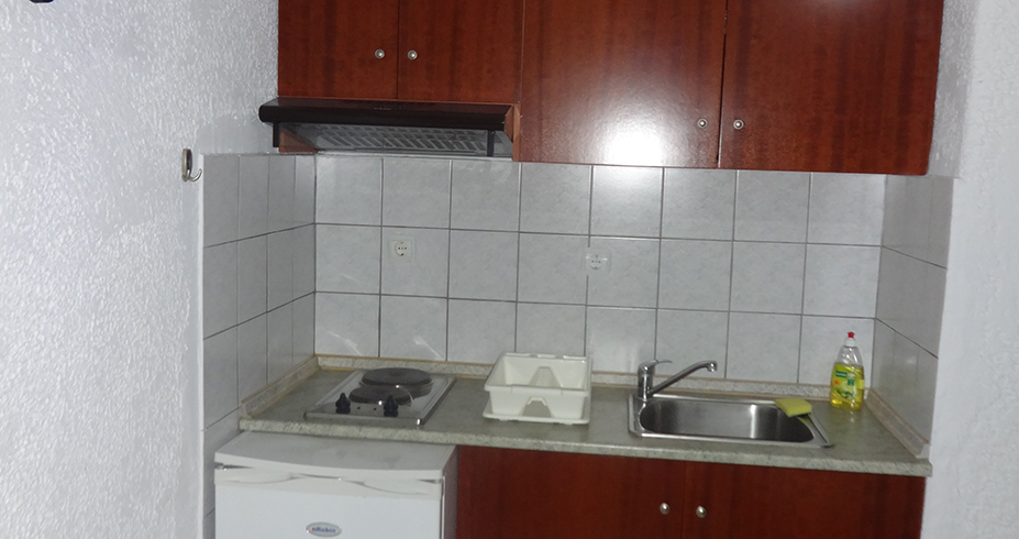 Vila Palma Pefkohori studio kuhinja