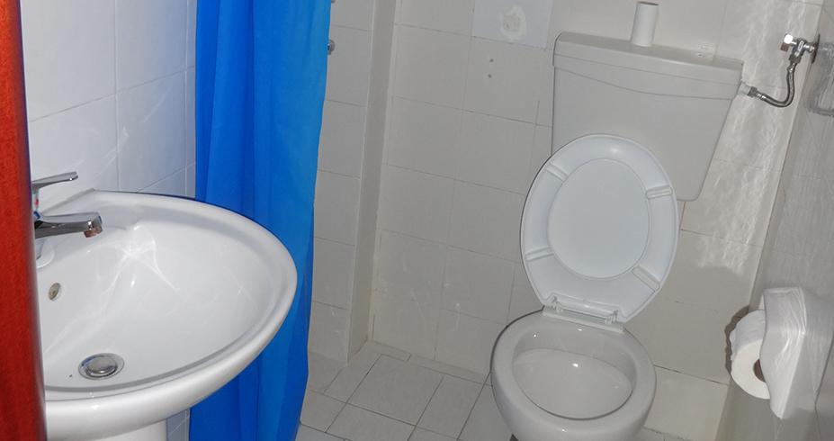 Vila Palma Pefkohori studio kupatilo