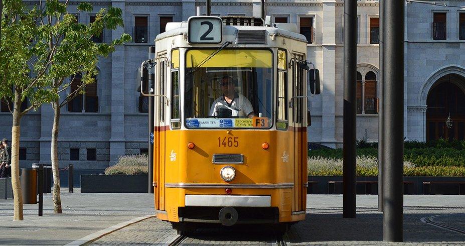 budimpesta tramvaj