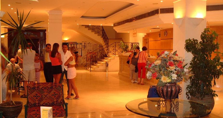 Bella Vista Resort hurghada egipat lobi