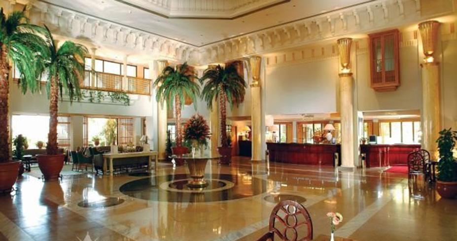 Continental Hotel hurgada egipat lobi