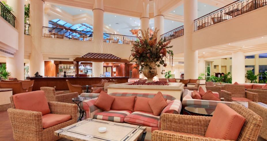Hilton Resort hurgada egipat lobi