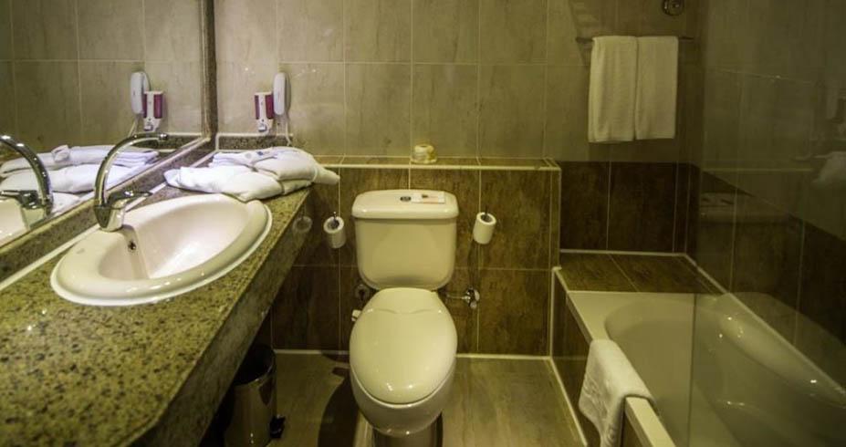 Nubia Beach Resort Hurgada kupatilo