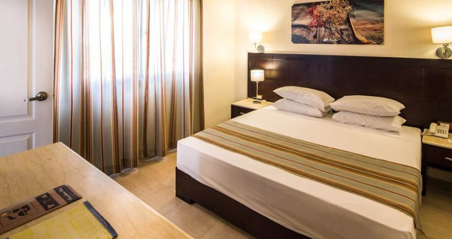 Nubia Beach Resort Hurgada soba