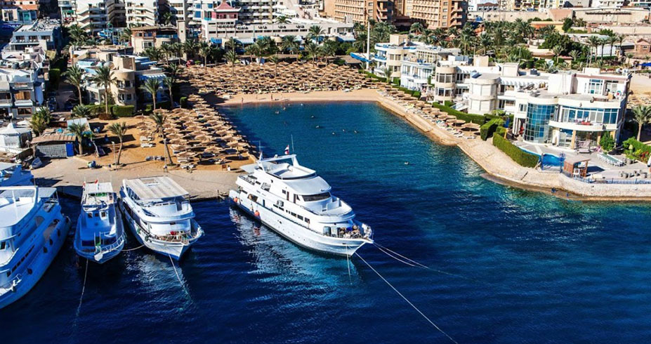 Seagull resort hurghada marina