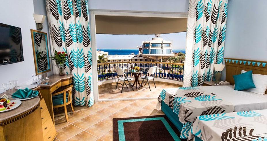 Seagull resort hurghada sobe