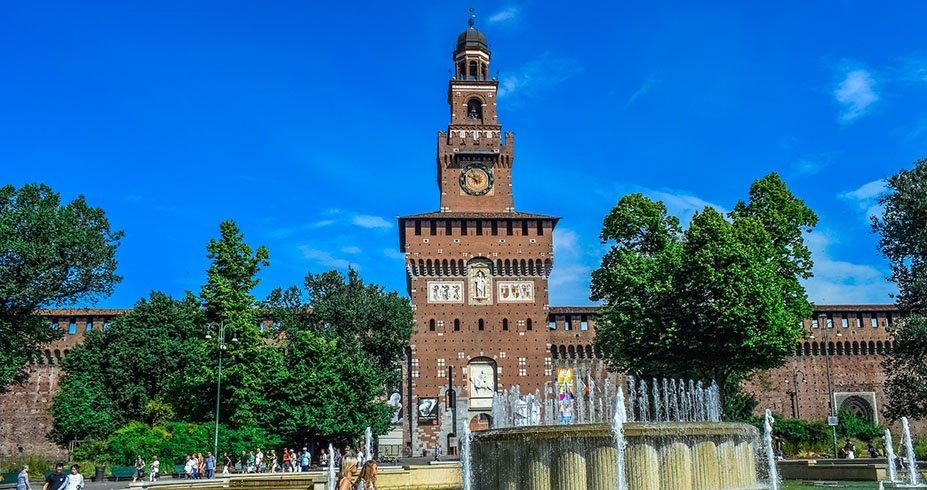 Sforza zamak milano