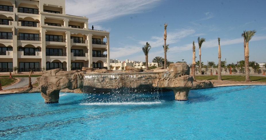 Steigenberger Al Dau Beach hurgada egipat bazen i vodopad