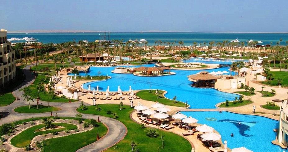 Steigenberger Al Dau Beach hurgada egipat bazeni