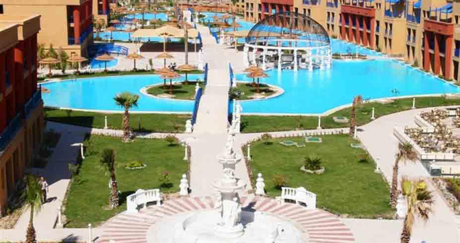 Titanic Palace hurgada egipat bazeni