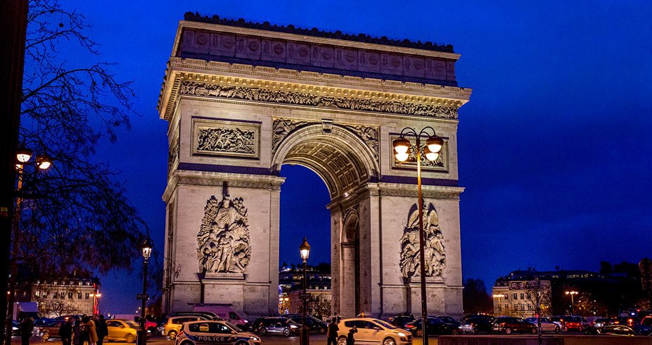 pariz trijumfalna kapija