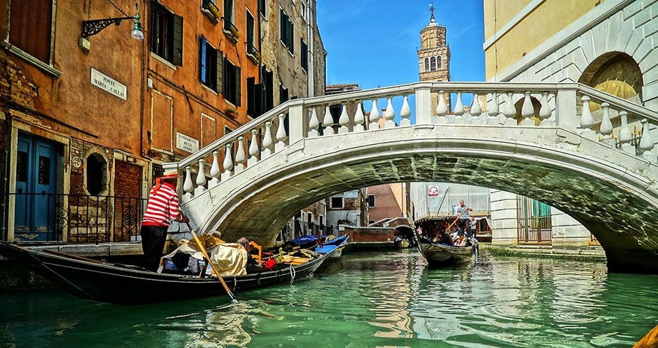 venecija gondola