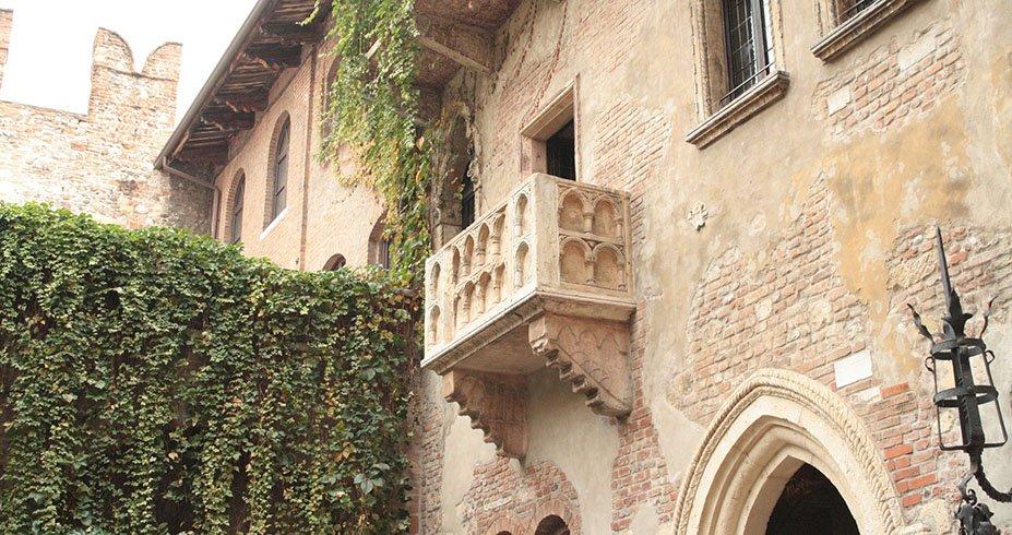 verona julijin balkon